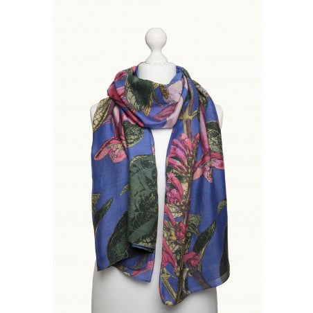 One Hundred Stars Kew Magnolia Flower Scarf