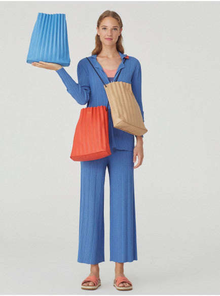 Nice Things Pleated Cross Body Bag