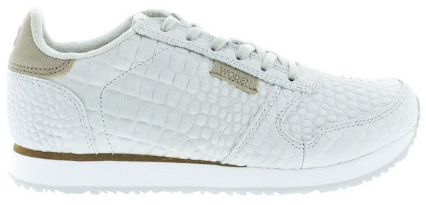 Woden Ydun Sea Fog Grey Croco Sneakers