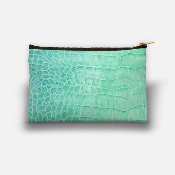 Croco leather effect (ment) Studio Pouch