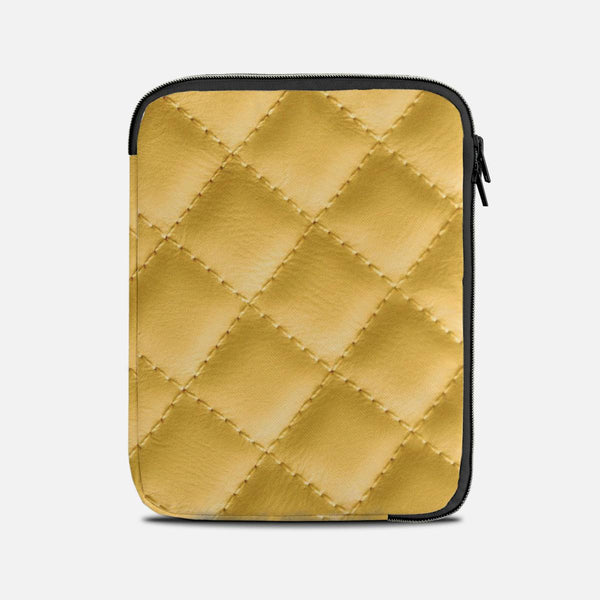 Yellow leather effect Tablet Sleeves