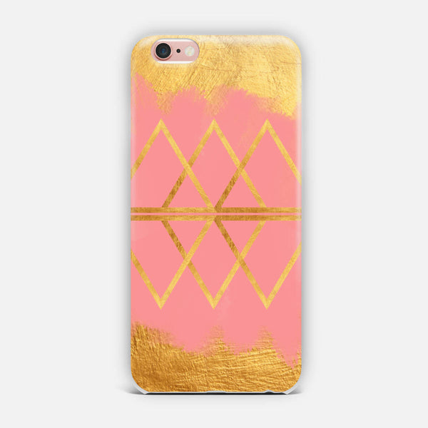 Pink Gold iPhone Case