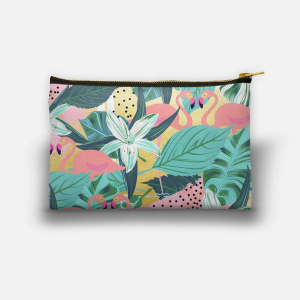 Flamingo Tropical Studio Pouch