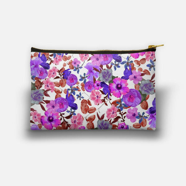 Zariya Flower Garden (Purple) Studio Pouch