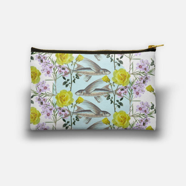 Floral Fishies Studio Pouch