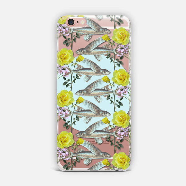 Floral Fishies iPhone Case