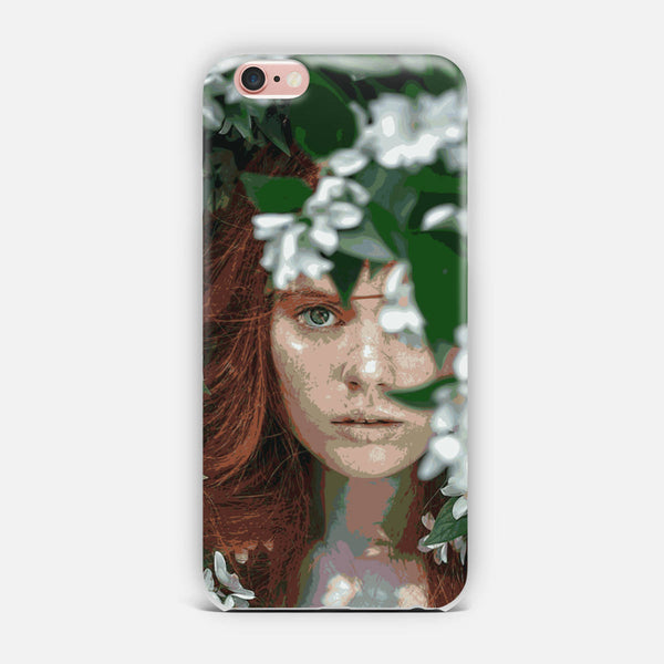 Meadow Girl iPhone Case