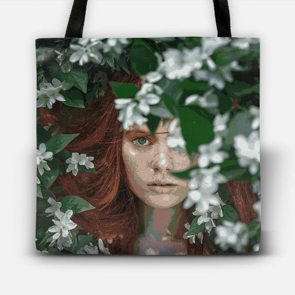 Meadow Girl Tote Bag