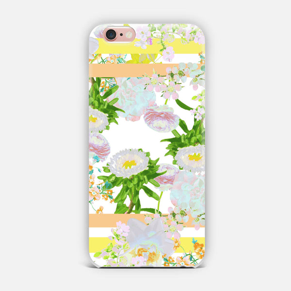 Floral Frame Collage iPhone Case