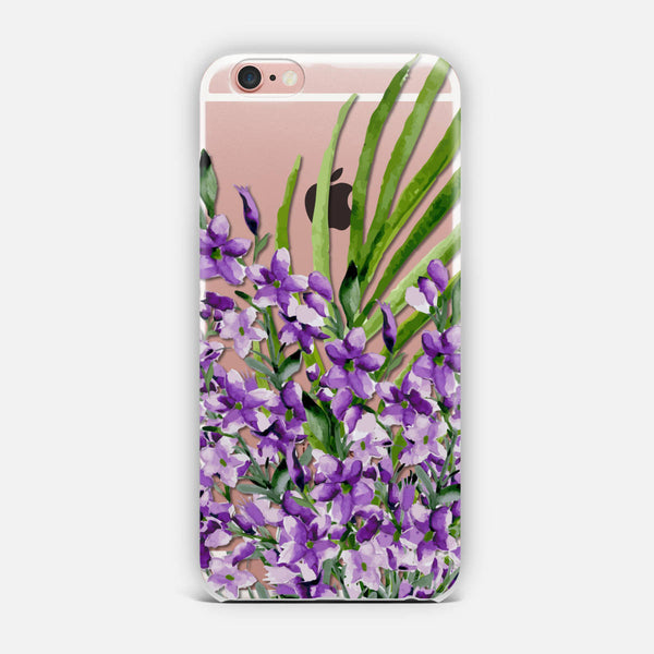 Lilac. Watercolor iPhone Case