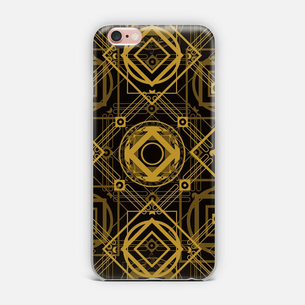 Gold Pattern on Black designed by AlisaRED