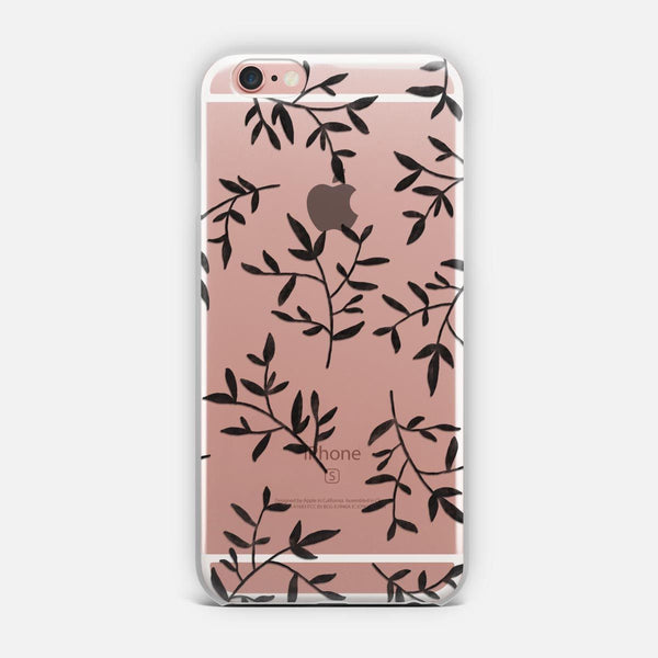 Black Leaves Transparent designed by KIND OF STYLE