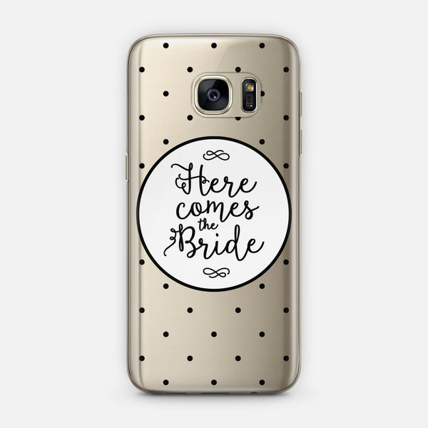 Here Comes The Bride (Polka Dots) designed by Noonday Design