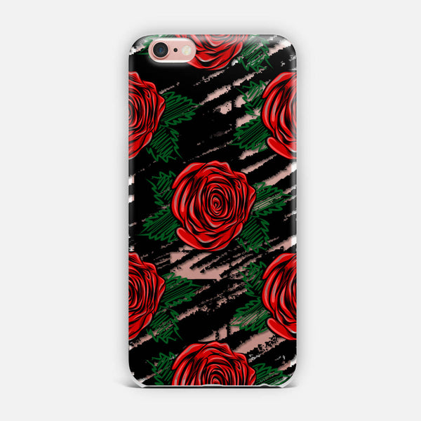 Red roses. iPhone Case