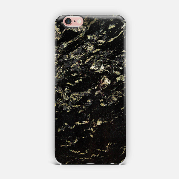 Marble black. iPhone Case
