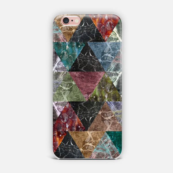 Marble multicolor. iPhone Case