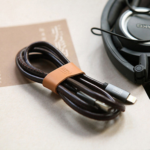 Stylish Leather USB Cable