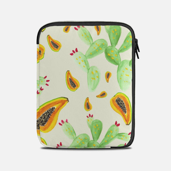 Cactus and fruits watercolor Tablet Sleeves