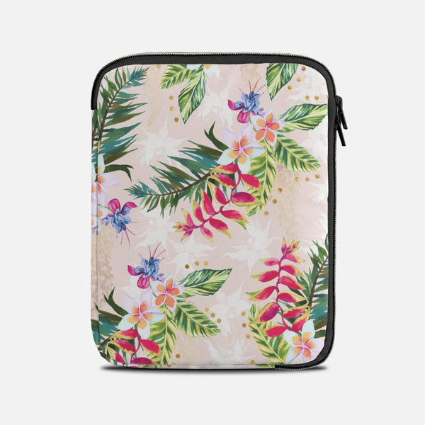 Pattern exotic flowers Tablet Sleeves