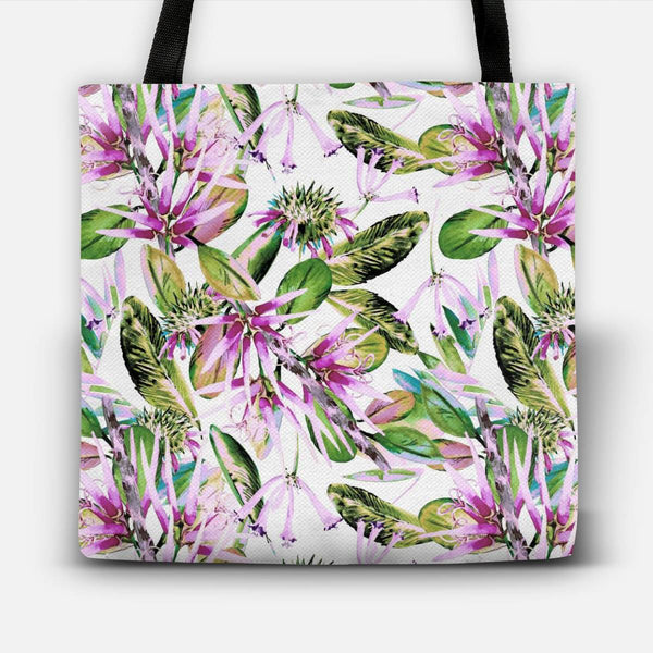 Nature abstract floral Tote Bag
