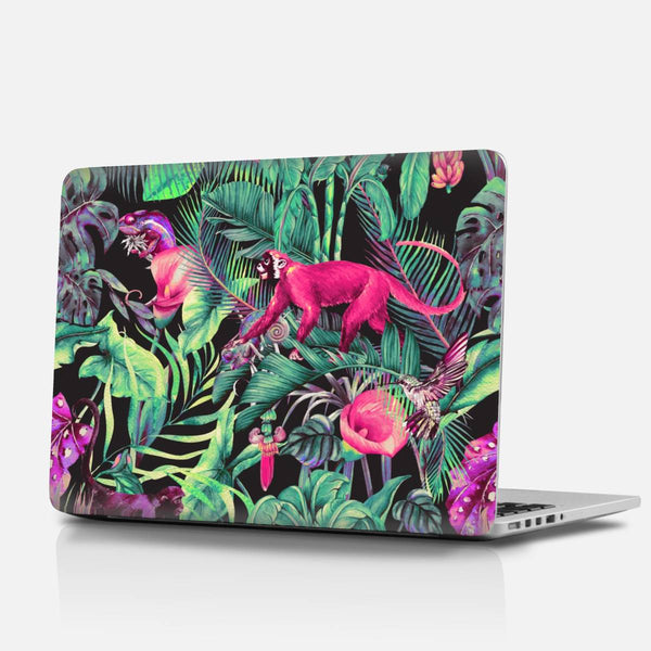 Electric fantasy in the tropical jungle Laptop Skins