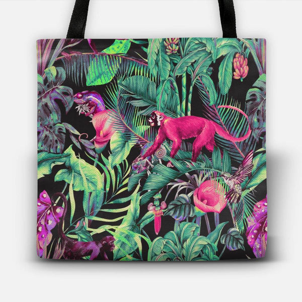 Electric fantasy in the tropical jungle Tote Bag