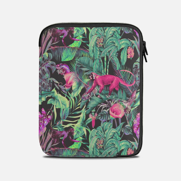 Electric fantasy in the tropical jungle Tablet Sleeves