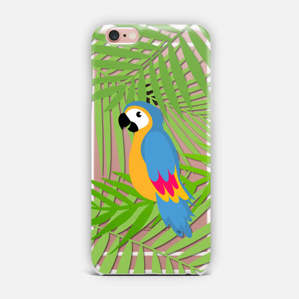 Funky Parrot iPhone Case