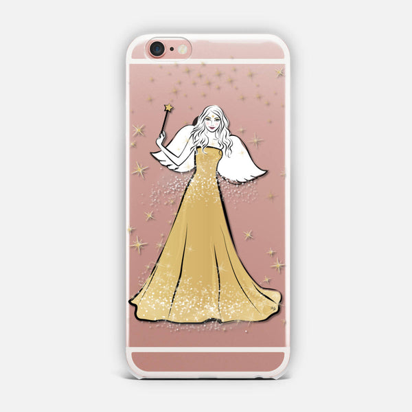 Festive Angel iPhone Case