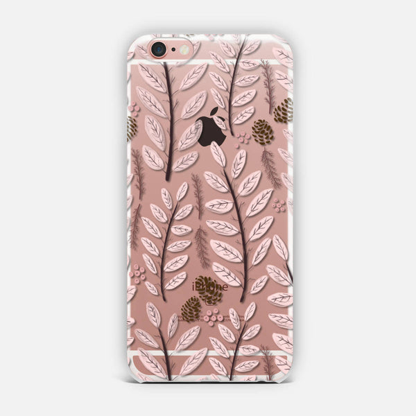 Pink Woodland iPhone Case