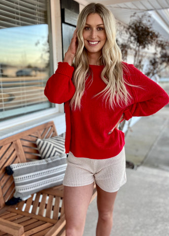 On The Run Sweater Shorts