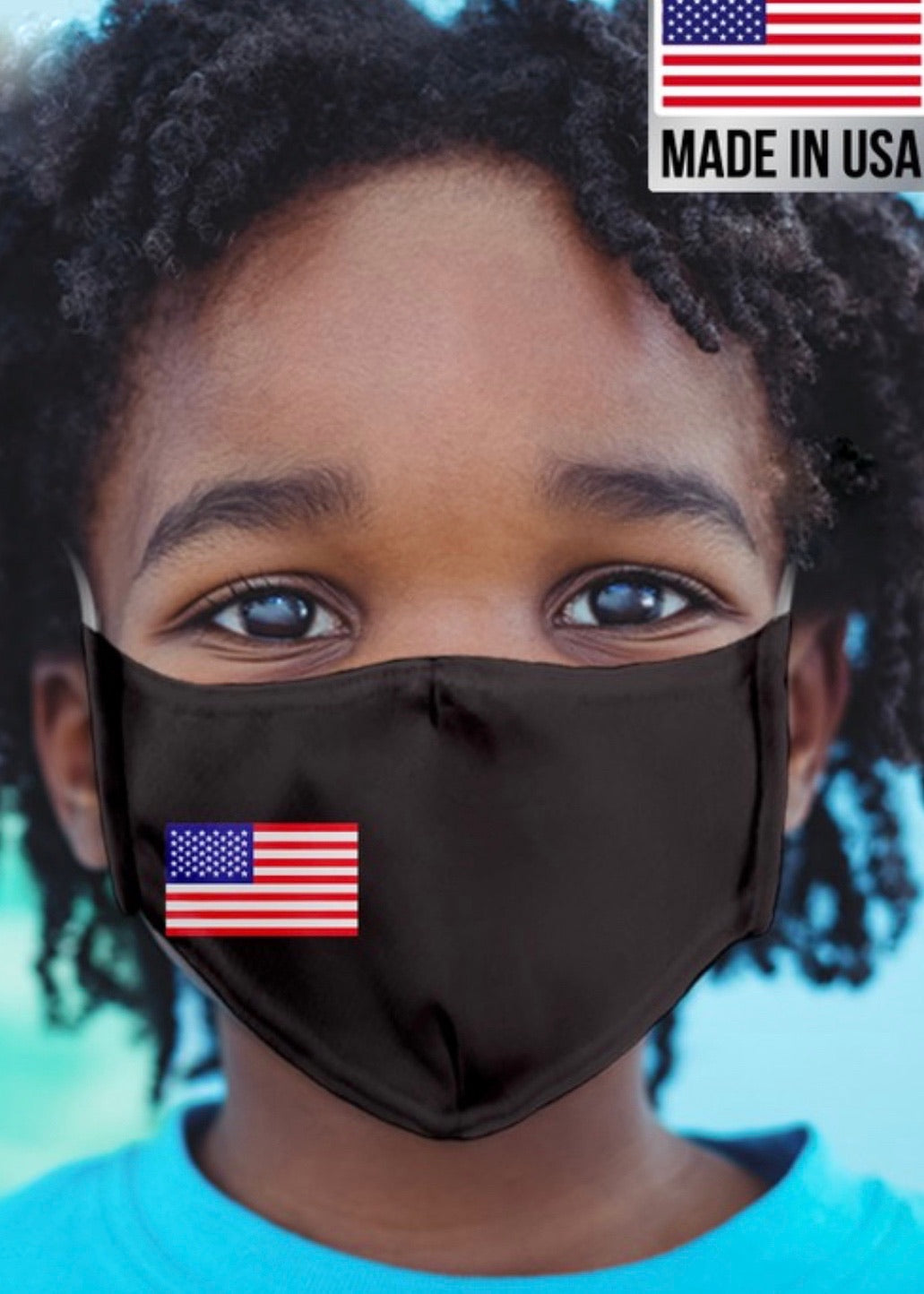 Kids USA Mask