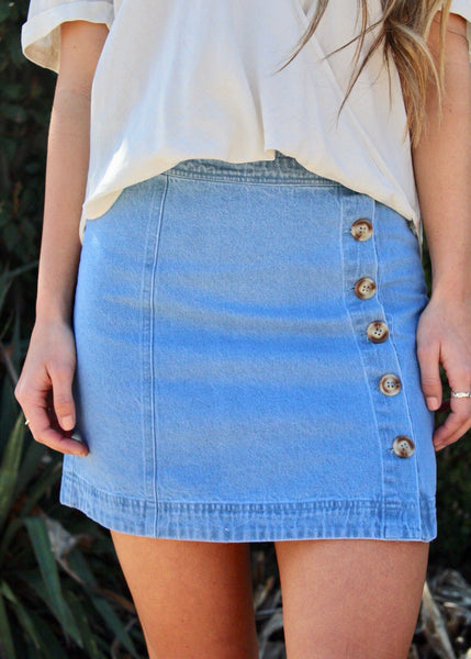 Summer Staple Denim Skirt