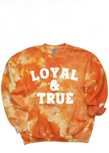 Loyal & True Dream On Tie Dye Pullover