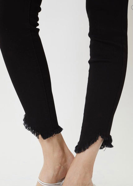 Lioness High Rise Super Skinny Jean - Black