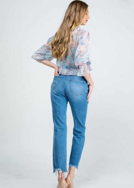 Hope High Rise Relaxed Straight Denim