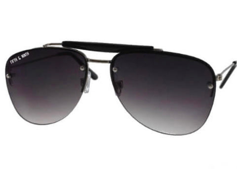 Sydney Aviator Sunglasses - Black