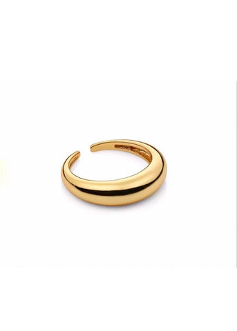 Gold Tubie Ring
