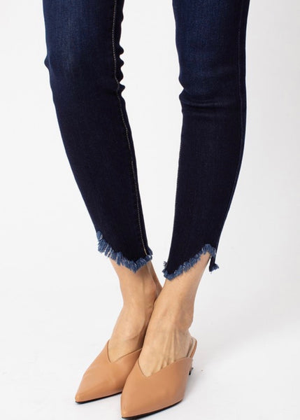 Lioness High Rise Skinny Jean - Dark Wash