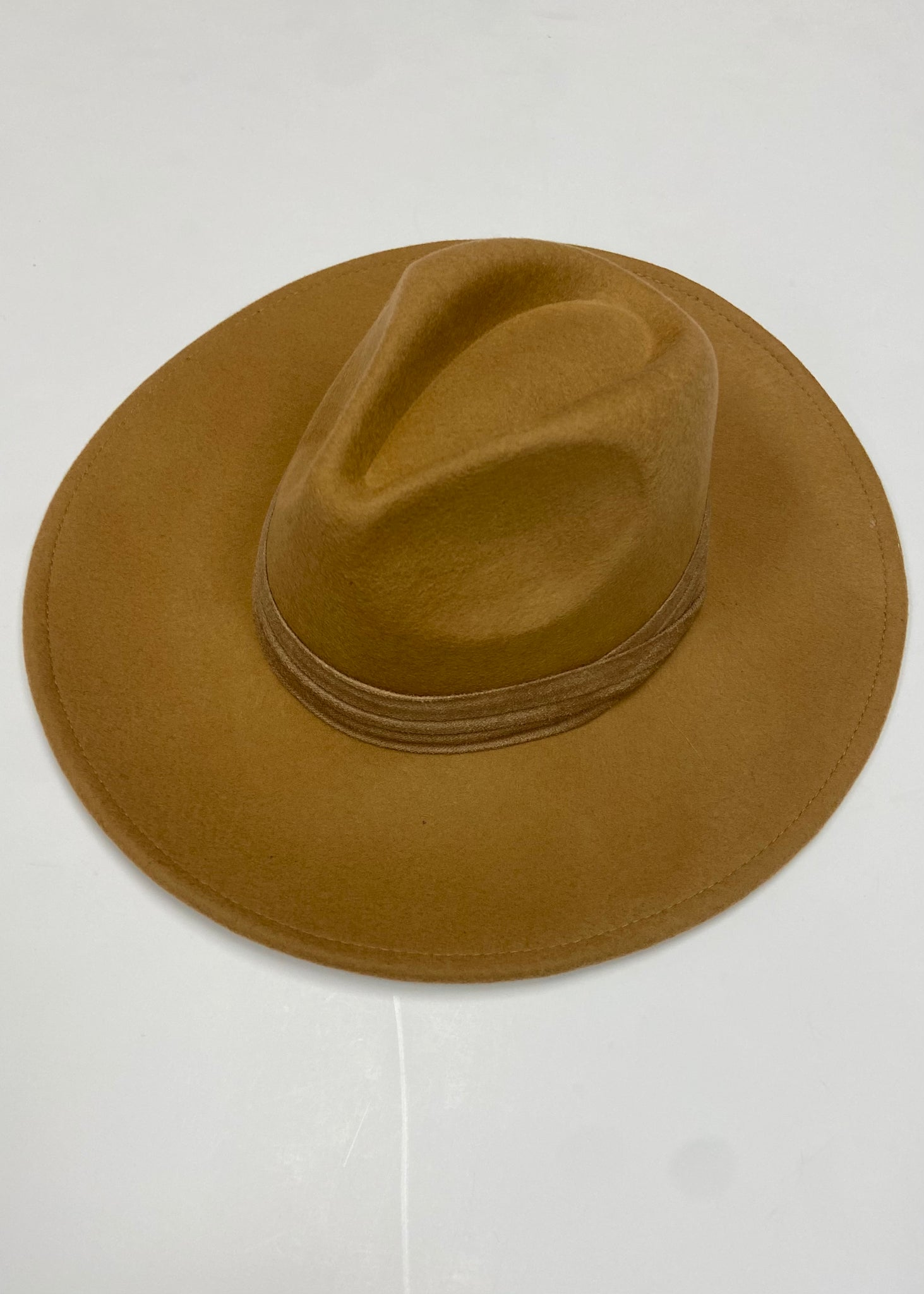 Ahead Of Your Game Flat Brim Hat - Tan