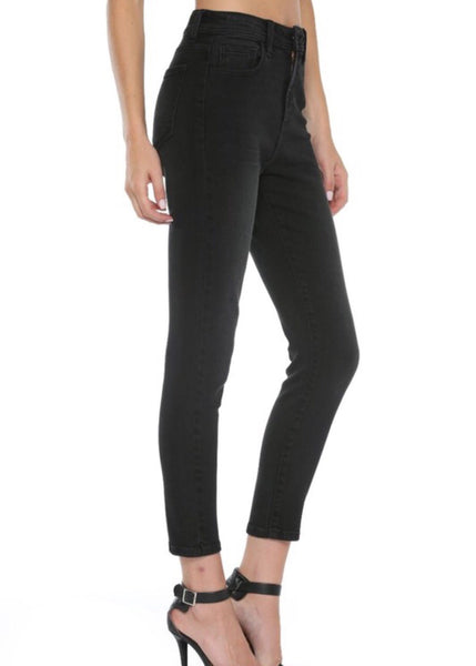 On The Go High Rise Mom Skinny Jeans