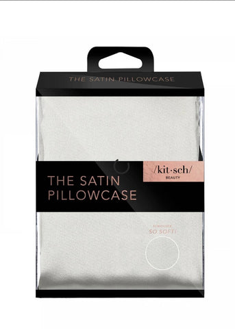 Satin Pillowcase Standard - Silver