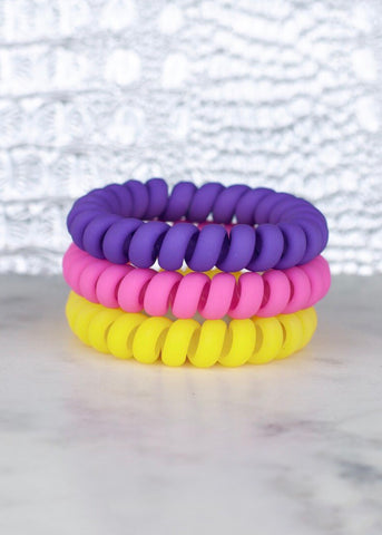 Hotline Hair Ties: Flower Power Matte