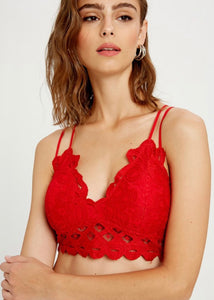 Passion Fruit Bralette - Red