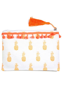 Pom Pom Cosmetic Bag