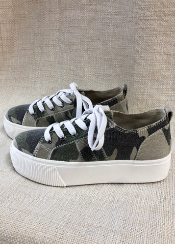 Keepin Up Camo Canvas Sneaker