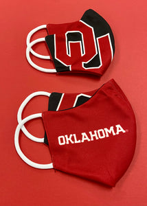 OU/Oklahoma Reversible Mask