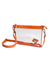 OSU Clear Small Crossbody Stadium Handbag