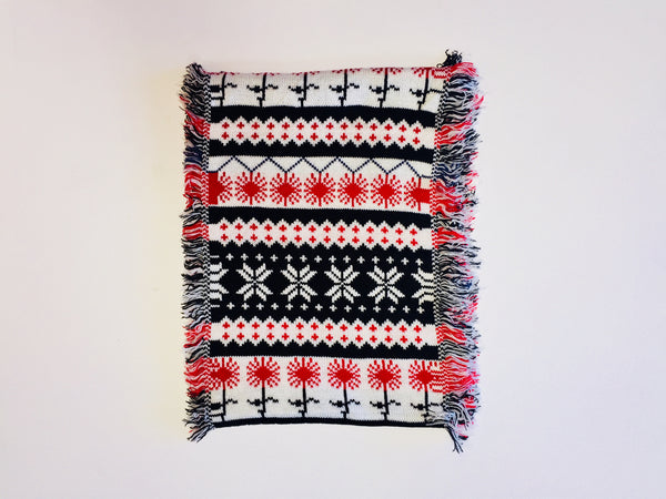Bring On the Snow Knit Scarf