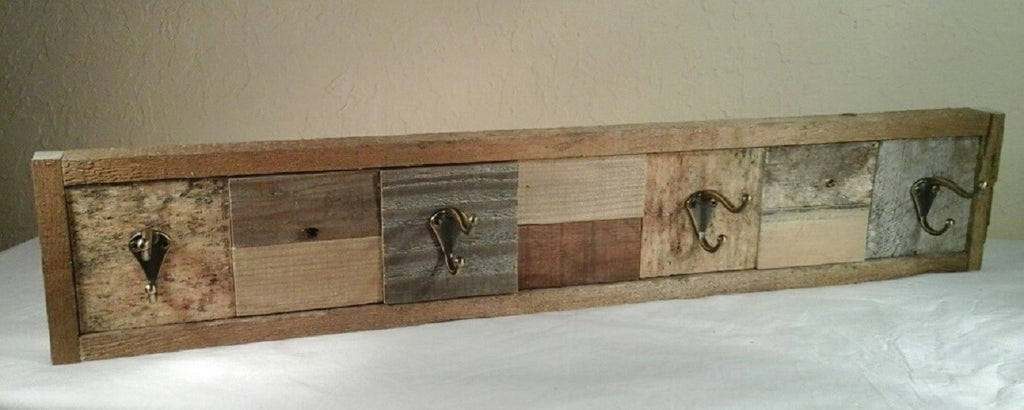 ... Rustic Coat Rack/Hat Rack made with Reclaimed Wood - Red Barn Rustic  Designs ... - Rustic Coat Rack/Hat Rack Made With Reclaimed Wood €� Red Barn